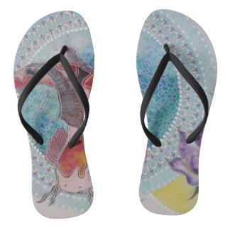 Koi Flip Flops