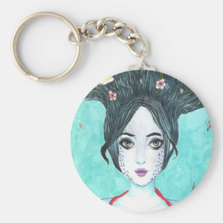Koi Illustration Keychain