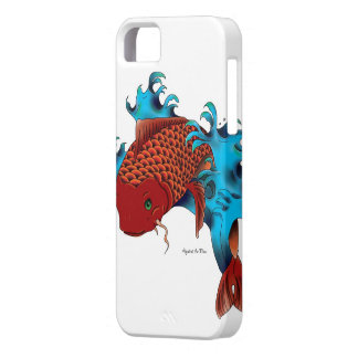 Koi in water iPhone 5 case