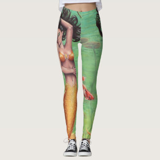 Koi Mermaid All Over Leggings