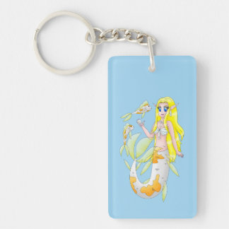 Koi Mermaid keychain