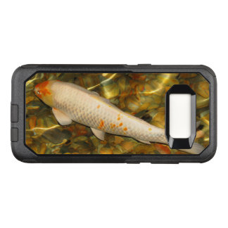 Koi Orange White Fish OtterBox Galaxy S8 Case