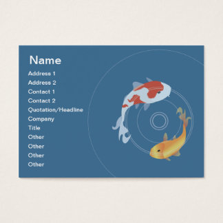 Koi Pond - Chubby Business Card