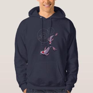 koi pond hoodie