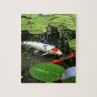 Koi Pond Jigsaw Puzzle