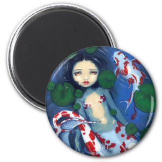"""""""Koi Pond Mermaid"""" Magnet"""