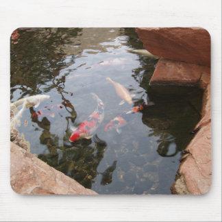 Koi Pond Mouse Pad
