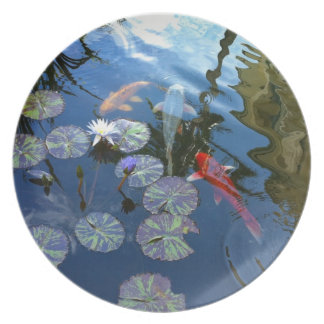 Koi Pond Party Plates