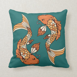 Koi Pond - Throw Pillow