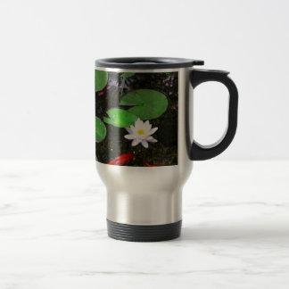 Koi Pond Travel Mug