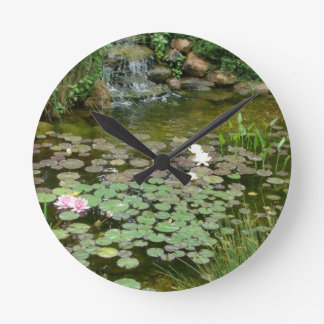 Koi Pond Wall Clock