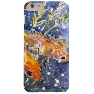 Koi Pond watercolor by Kathleen Gasparin Barely There iPhone 6 Plus Case