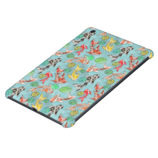 Koi pond watercolors iPad mini retina cover