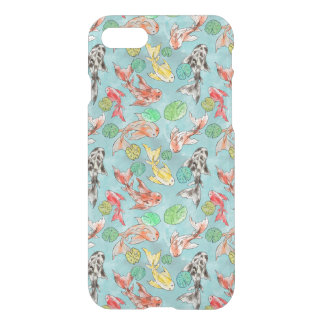Koi pond watercolors iPhone 8/7 case