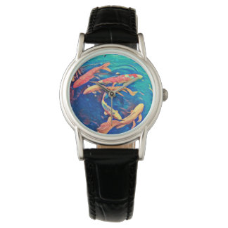 Koi Pond Wrist Watch