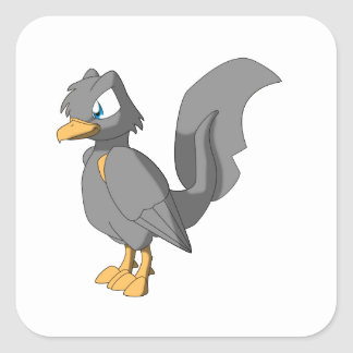 Koi Reptilian Bird - Ginbo Sticker