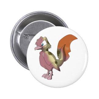 Koi Reptilian Bird - Mixed Breed 1 2 Inch Round Button