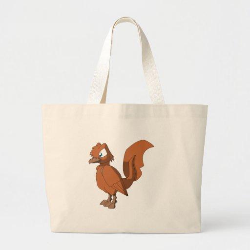 Koi Reptilian Bird - Spice Orange Tote Bag