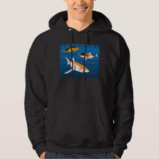 Koi Sharks Hoodie
