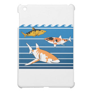 Koi Sharks iPad Mini Case