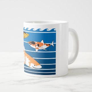 Koi Sharks Large Coffee Mug