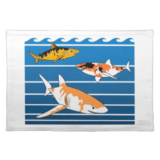 Koi Sharks Placemat