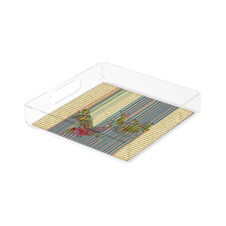 Koi Small Square Tray