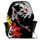Koi Tattoo: Traditional Japanese Design Messenger Bag