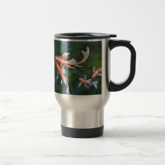 Koi Tranquility Travel Mug