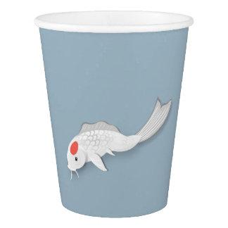 Koi Vector Art Paper Cups