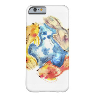 Koi Watercolor Fish Barely There iPhone 6 Case