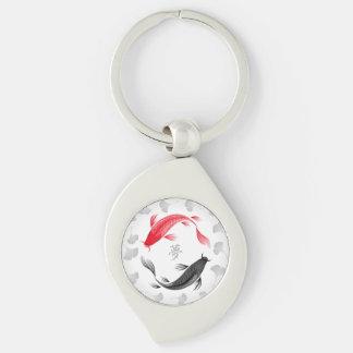 Koi Yume keychain (swirl)