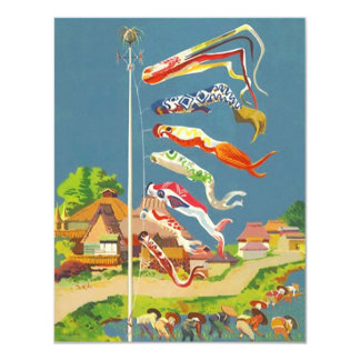 KOINOBORI STREAMERS CHILDREN'S DAY INVITATIONS