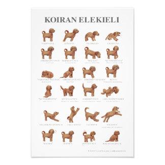 Koiran elekieli / Kiiltäväpintainen juliste Photo Print