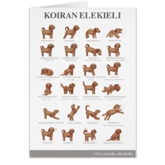 Koiran elekieli / Kortti / Card