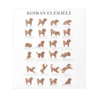 Koiran elekieli notepad