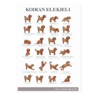 Koiran elekieli postcard