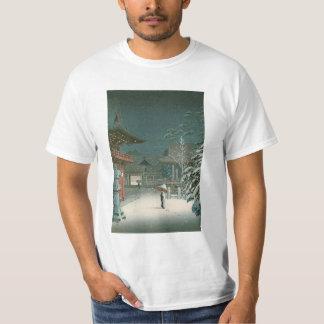 Koitsu Tsuchiya Nezu Shrine Sale Shin Hanga Art T-Shirt