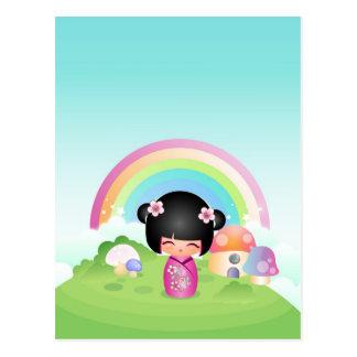 Kokesh Cutie Land Postcard