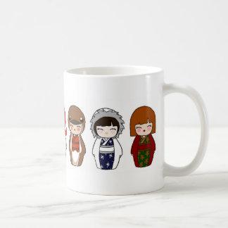 Kokeshi Christmas Mug 2