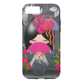 Kokeshi Doll Journey iPhone 7, Tough iPhone 7 Case