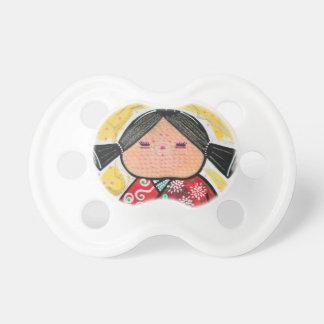 Kokeshi Doll Pacifier