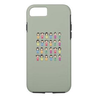 kokeshi dolls iPhone 7 case