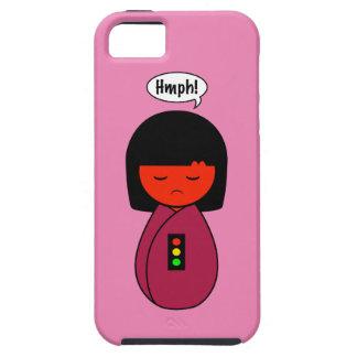 Kokeshi Girl Hmph! iPhone 5 Case