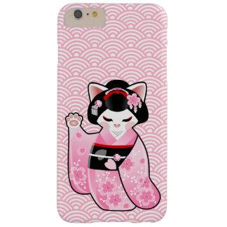 Kokeshi Maneki Neko Japanese Lucky Cat Maiko Barely There iPhone 6 Plus Case
