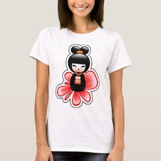 kokeshi-mickey-sfondo-t T-Shirt
