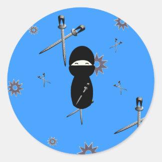 Kokeshi Ninja Sticker