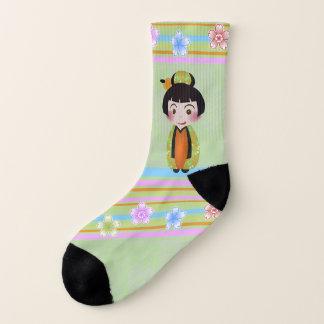 kokeshi noshi - socks 1