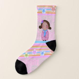 kokeshi sakura - socks 1