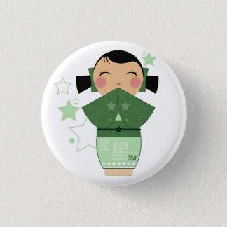 Kokeshi Star Pin